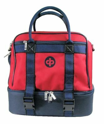 Drakes Pride - Midi Bag Red - Lawn / Crown Green Bowls Carry Bag with Strap