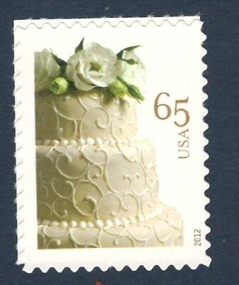 4602 Wedding Cake (65c) US Single Mint/nh (Free Shipping) - Minted Wedding