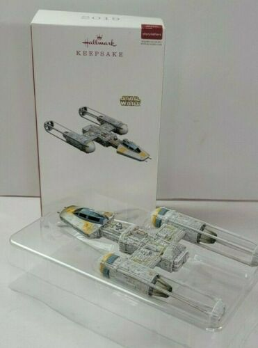 Hallmark Star Wars Ornament 2019 Y-Wing Starfighter Storyteller No Cord Untested