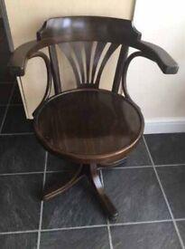 Swivel chair £50