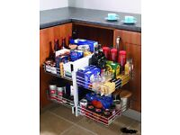 Corner Optimiser, Pull out magic storage unit for kitchen cupboard, BNIB