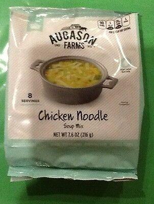 Augason Farms Instant  Chicken Noodle Soup Mix Emergency Food Survival Prepper