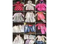 Bundle of Girls 6-9months clothes