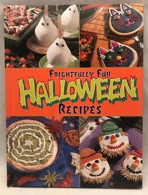 Frightfully Fun Halloween Recipes 2000 Hardcover Party Treats Tricks - Fun Halloween Recipes