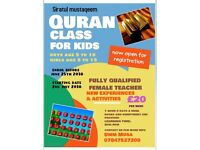 Quran class for kids