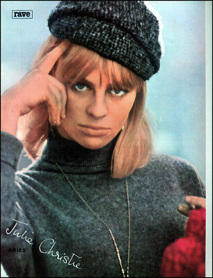 JULIE CHRISTIE POSTER PAGE . BILLY LIAR . DARLING . DOCTOR ZHIVAGO . 5R3