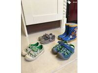 Toddler boys shoes (clarks)