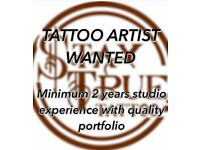 Tattoo artist vacancy
