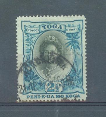 Tonga 1921   2.1/2d sg.58 used