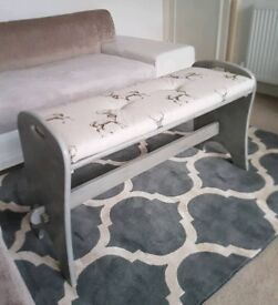 Lovely upcycled vintage bench
