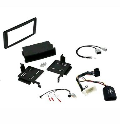 CTKBM05 Car CD Stereo Double Din Radio Replacement Fitting Kit For BMW X5 E53