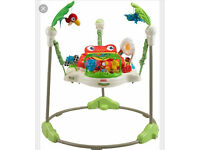 fisher price rainforest jumperoo in baby bouncers