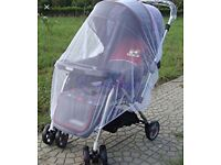 Mamas & papas buggy mesh insect cover £10