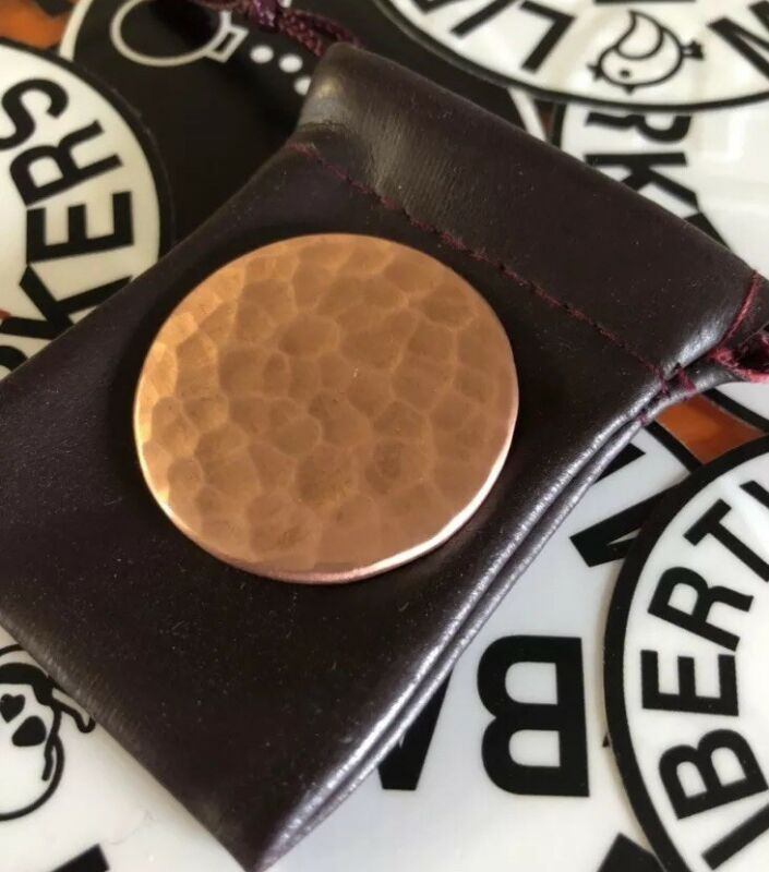 BLANK  Hand Made Custom Copper Golf Ball Marker!