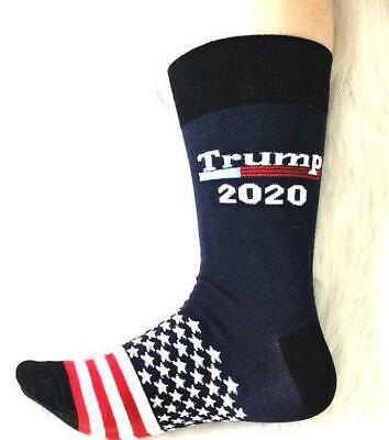 Donald Trump President Socks 2020 Make America Great Again Cotton Flag Stockings