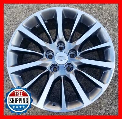 "CADILLAC CT6 2016-2020 Factory OEM Wheel 19"" Rim Machined/Hyper 4762 4763 Cap #R"