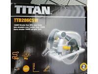 Titan 1500w circular saw