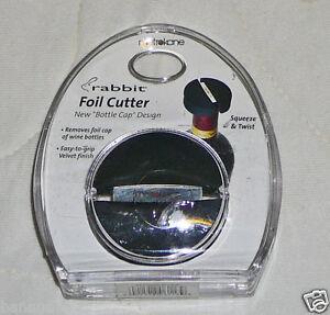 Rabbit Metrokane Foil Cutter Wine Bottle 6113