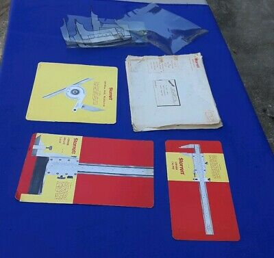 1970 Starrett Co. Tools Educational Manuals Micrometer Caliper Height Gage Protr