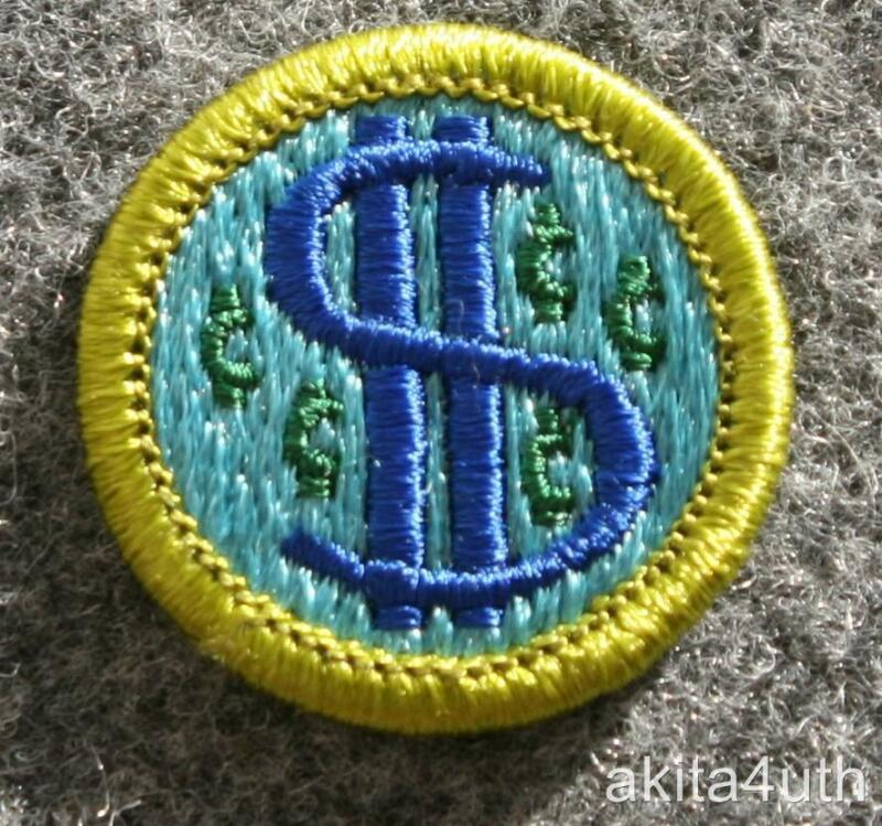 BSA Consumer Buying Merit Badge - Type H Discontinued - Boy Scout