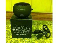 STAR WARS MINI SPEAKER ((BRAND NEW STILL BOXED)