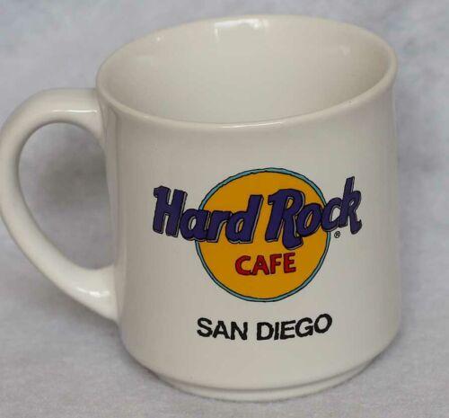 HARD ROCK CAFE SAN DIEGO CALIFORNIA VINTAGE COFFEE CUP MUG COLLECTIBLE MUSIC