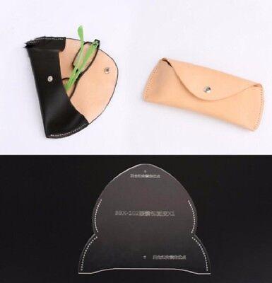 Eyeglasses Case Template Acrylic Leather Pattern DIY (Diy Eyeglasses)