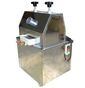110V Electric Sweet sorghum Sugar Cane Ginger Press Juicer 134036