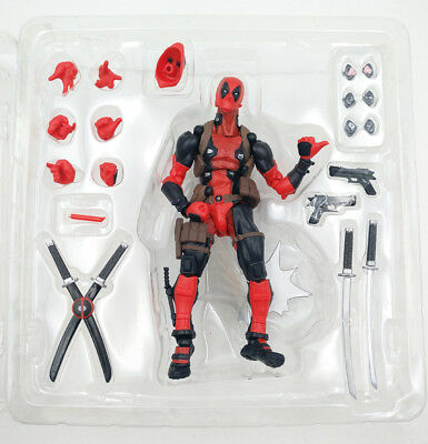 Marvel Legends DEADPOOL X-men Revoltech Kaiyodo Model Toy Comics Action Figure