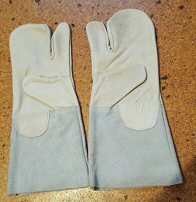 Schweißer Handschuhe, Leder Handschuhe, Schutzausrüstung