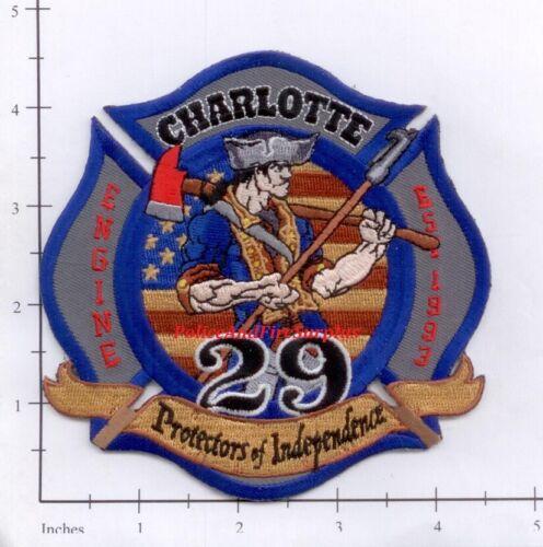 North Carolina - Charlotte Station 29 Fire Dept Patch