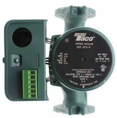 Taco 007-zf5-9 Cast Iron Priority Zoning Cartridge Circulator Pump 125 Hp