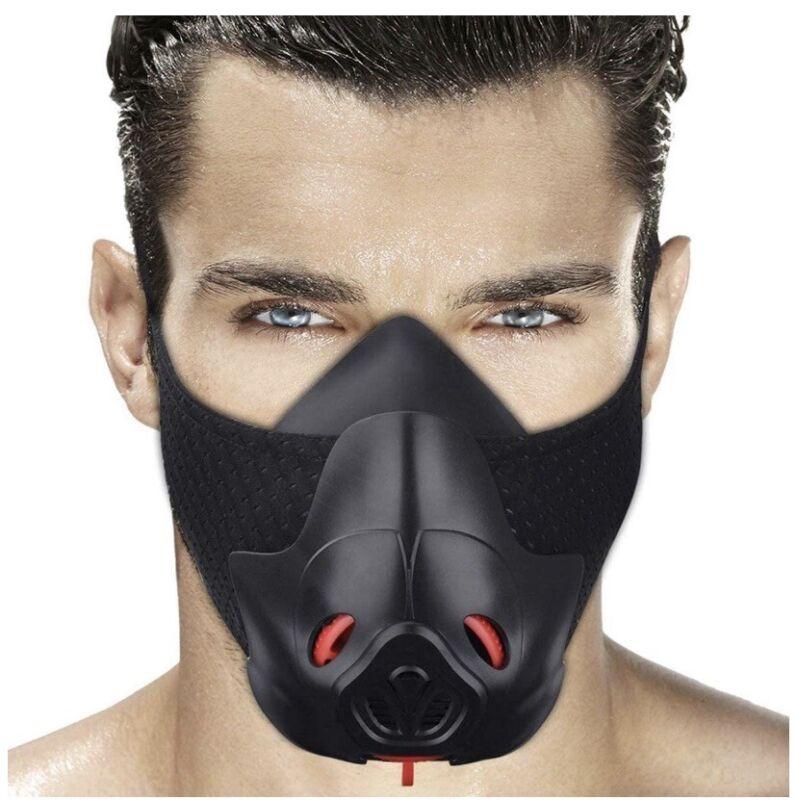 Mascara Deportiva De Entrenamiento Mascara Hipoxica Mascara Para Correr Masc...