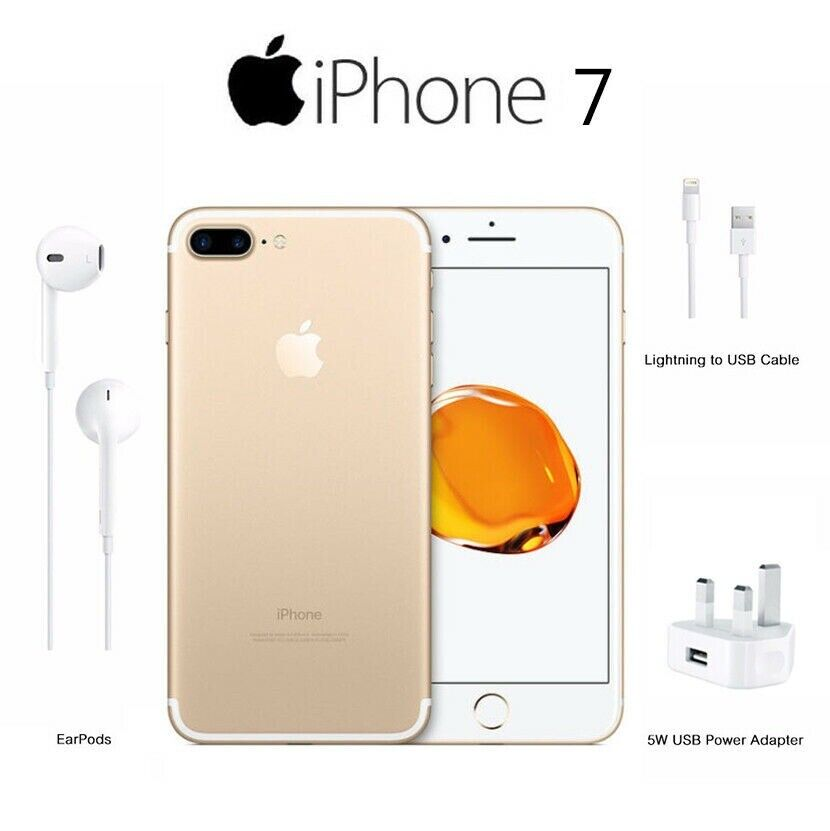 New - Apple iPhone 7 Gold 256GB - (Unlocked) | in Harrow, London | Gumtree