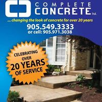Book early and save big on your next concrete project