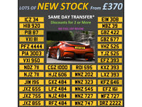 Distinctive Short Dateless Personal Private Registration Number Plates From £370 Including Transfer