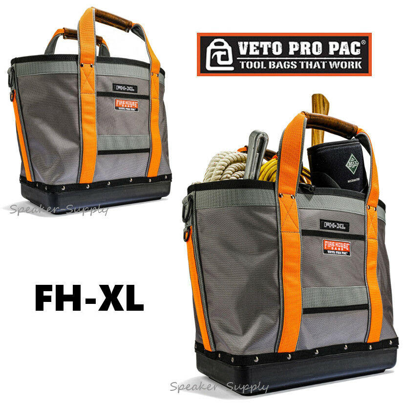 Veto Pro Pac Firehouse Cargo Tote Tool Bag Fire Truck Depart