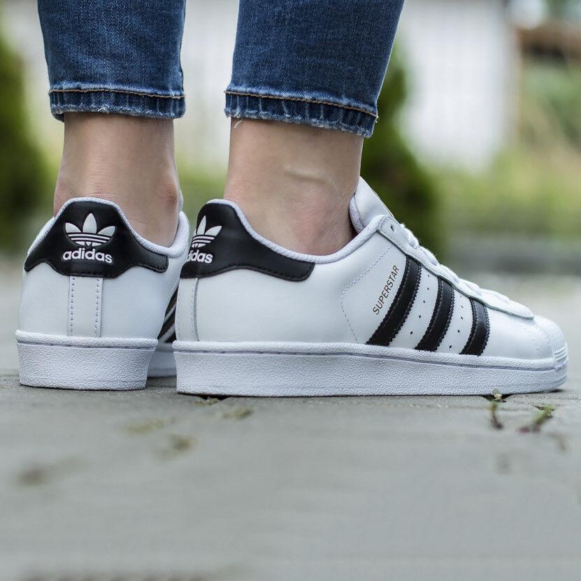 ADIDAS ORIGINALS SUPERSTAR Unisex Sneaker Schuhe Turnschuhe Damen Jungen C77154