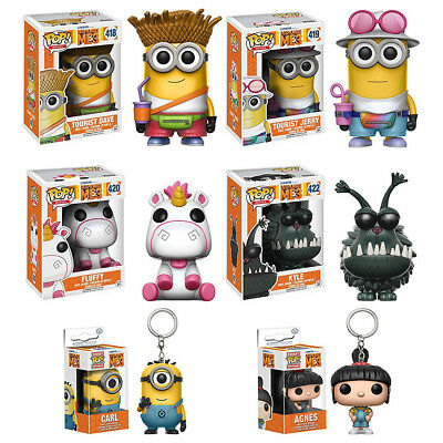 Jerry Minion Despicable Me (Despicable Me 3 Toy - Minions Dave/Jerry/Kyle/Fluffy Funko POP Figure /)