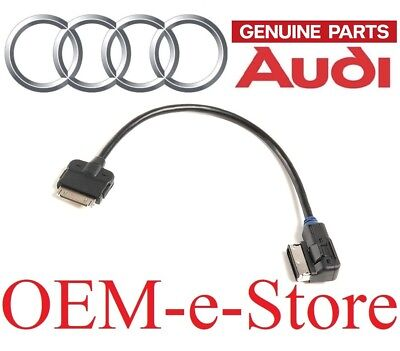 Audi Music Interface iPod iPhone Cable Adapter See Chart for Compatible Vehicles ()