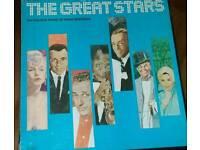 Boxed vinyl records