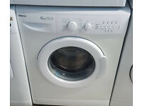 l229 white beko 6kg 1300spin washing machine comes with warranty can be delivered or collected