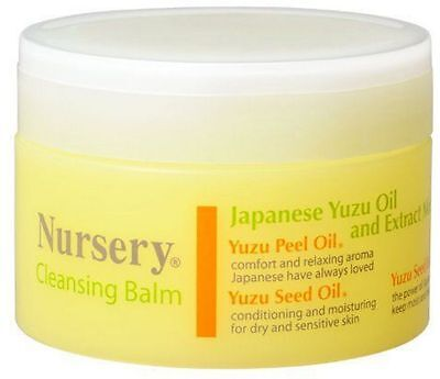 Nursery Japan Cleansing Balm Yuzu 91.5g - Japanese Yuzu Oil & Extract Mix