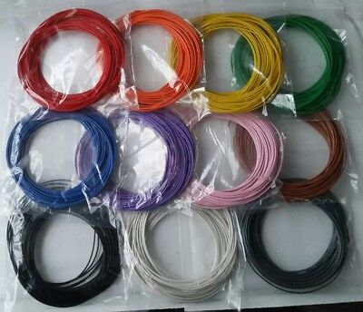 110m Solid Core 10.6mm Equipment Hookup Wire 10m11 Colours Breadboard Arduino