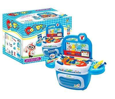 Doktorkoffer Arztkoffer Kinder Arzt Spielkiste Spielbox Arztkoffer  21-teilig