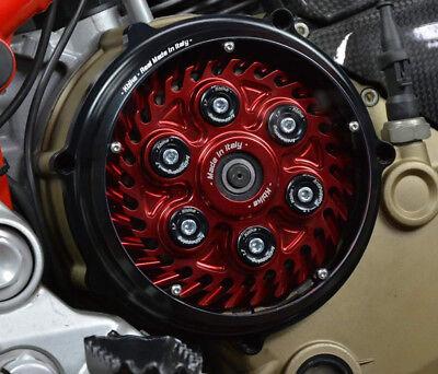 """Ducati Kupplungsdeckel Kupplung Deckel """"Pollux"""" schwarz NEU - clutch cover NEW"""