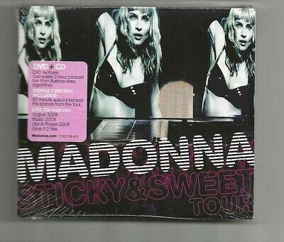 Madonna The Sticky & Sweet Tour CD + DVD New / Sealed  comprar usado  Enviando para Brazil
