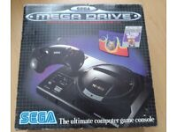 Sega Mega-drive Console - used but in great condition - BOXED but no manual