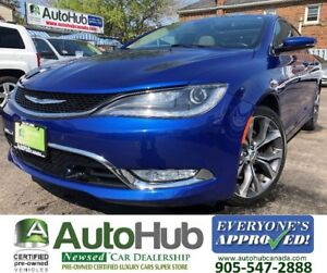 2015 Chrysler 200 C-TOP OF THE LINE-FULLY LOADED