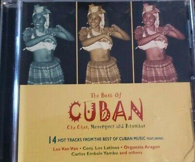 The Best Of Cuban Cha Chas Merengues & Rhumbas 14 Tracks Cuban Music Los Van